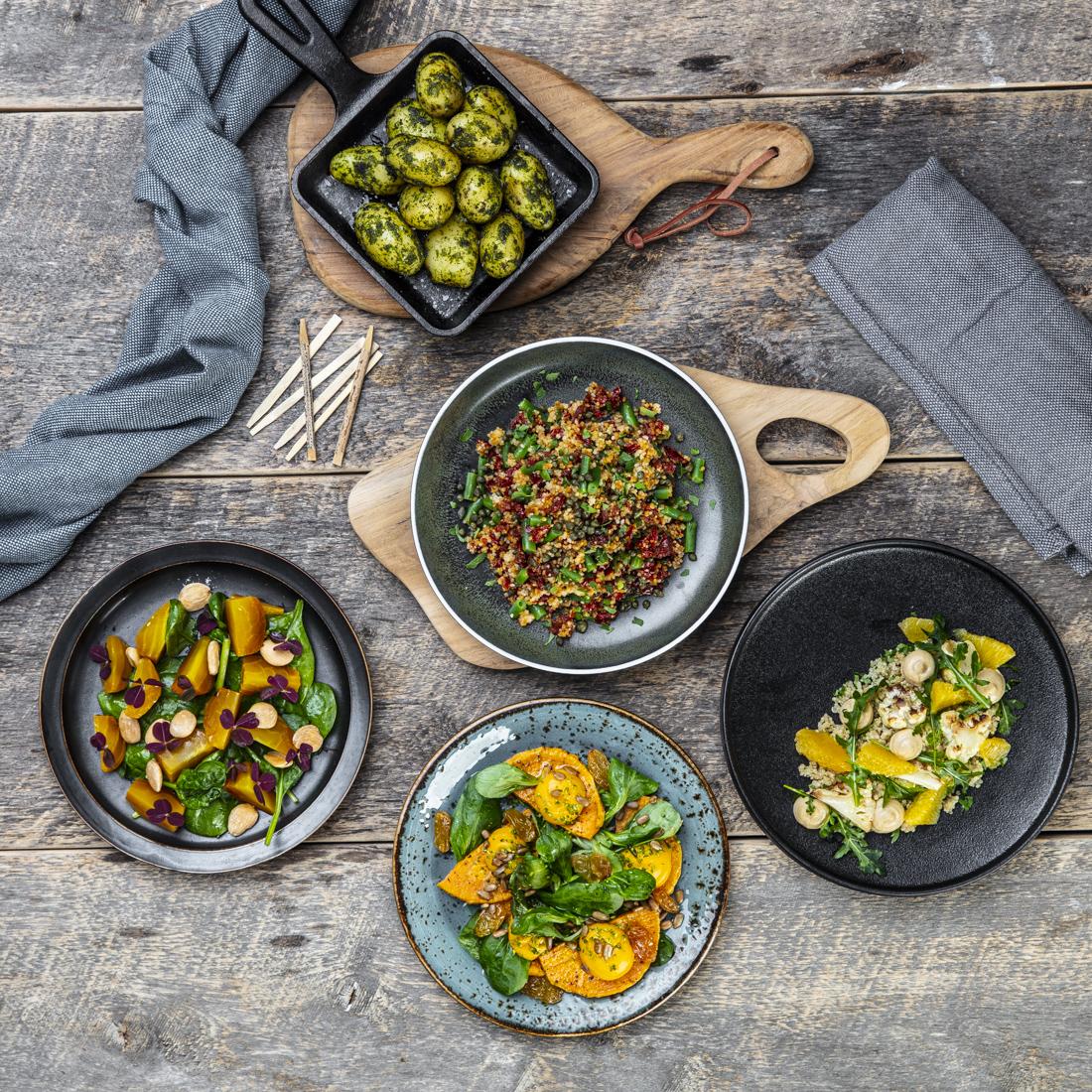 vegetar tapas vegansk mat catering